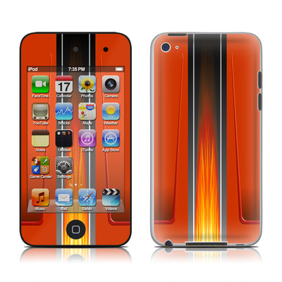 iPod Touch 4G Skin - Hot Rod