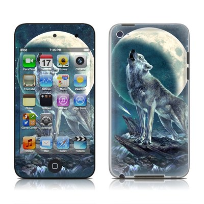 iPod Touch 4G Skin - Howling Moon Soloist