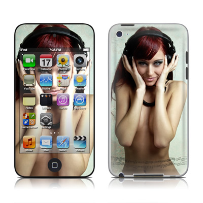 iPod Touch 4G Skin - Headphones