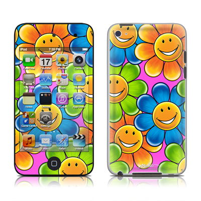 iPod Touch 4G Skin - Happy Daisies
