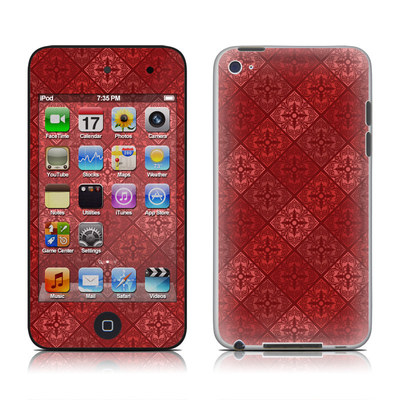 iPod Touch 4G Skin - Humidor