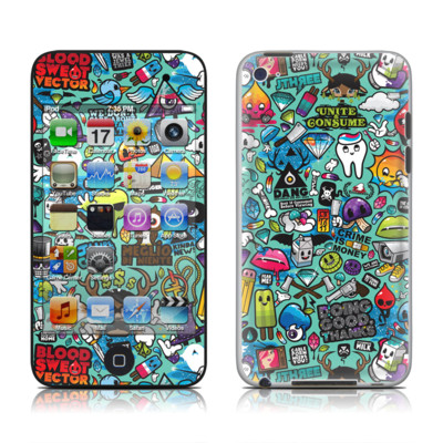 iPod Touch 4G Skin - Jewel Thief