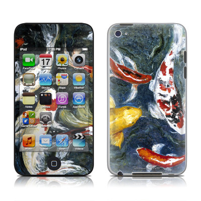 iPod Touch 4G Skin - Koi's Happiness
