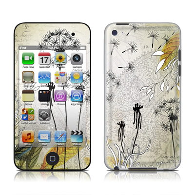 iPod Touch 4G Skin - Little Dandelion