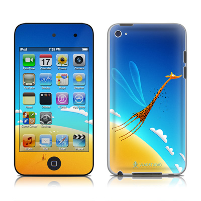 iPod Touch 4G Skin - Learn to Fly