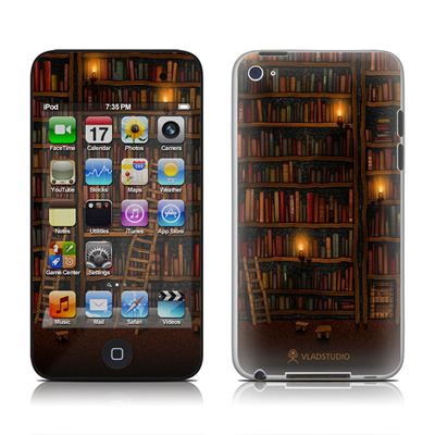 iPod Touch 4G Skin - Library