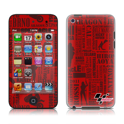 iPod Touch 4G Skin - Life of MotoGP