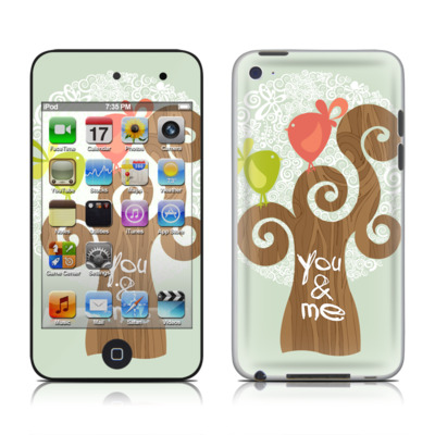iPod Touch 4G Skin - Two Little Birds