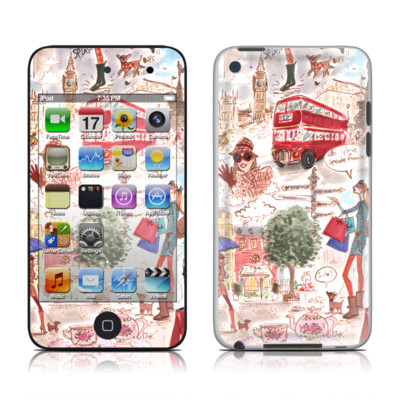 iPod Touch 4G Skin - London