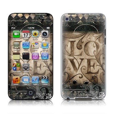 iPod Touch 4G Skin - Love's Embrace