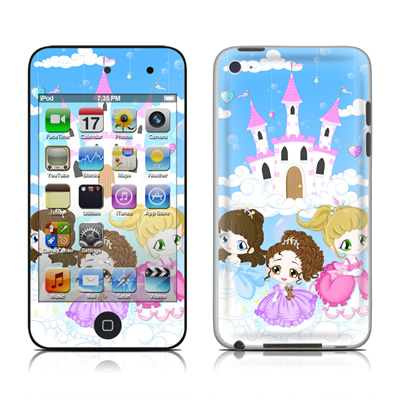 iPod Touch 4G Skin - Little Princesses