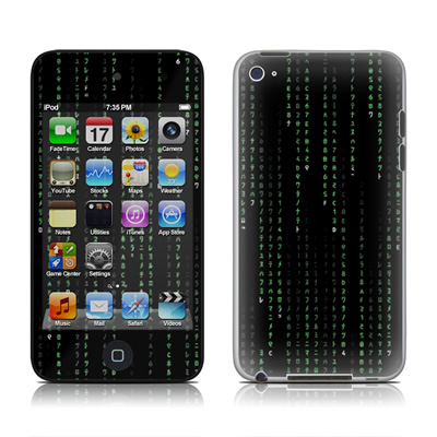 iPod Touch 4G Skin - Matrix Style Code