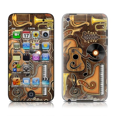 iPod Touch 4G Skin - Music Elements