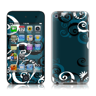 iPod Touch 4G Skin - Midnight Garden