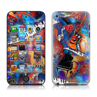 iPod Touch 4G Skin - Music Madness