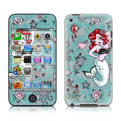 iPod Touch 4G Skin - Molly Mermaid