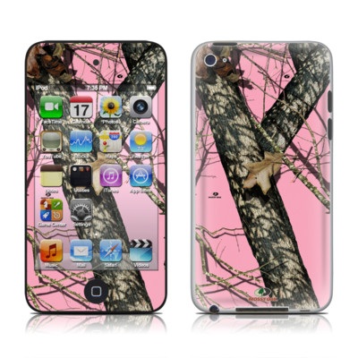 iPod Touch 4G Skin - Break-Up Pink