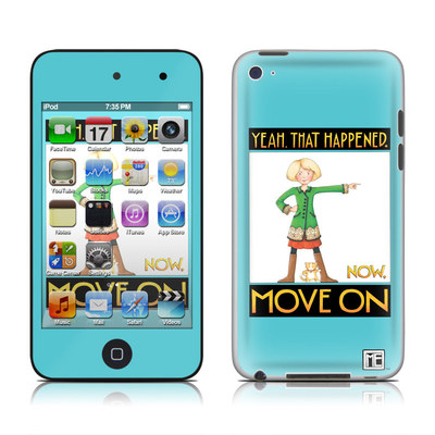 iPod Touch 4G Skin - Move On
