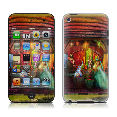 iPod Touch 4G Skin - A Mad Tea Party
