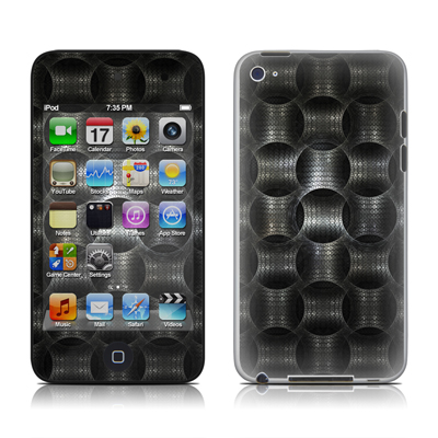 iPod Touch 4G Skin - Metallic Weave