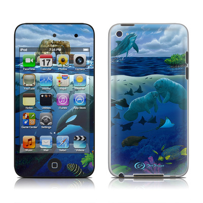iPod Touch 4G Skin - Oceans For Youth
