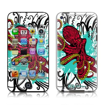 iPod Touch 4G Skin - Octopus