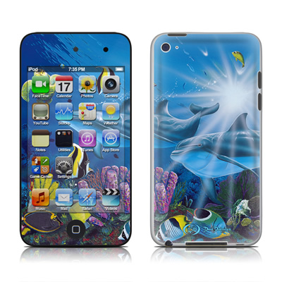 iPod Touch 4G Skin - Ocean Friends