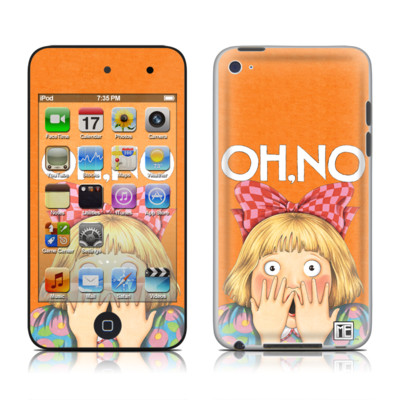 iPod Touch 4G Skin - Oh No