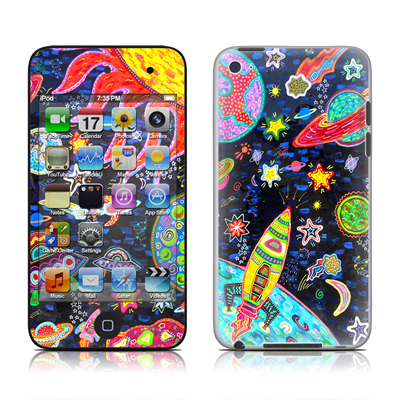 iPod Touch 4G Skin - Out to Space