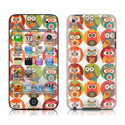 iPod Touch 4G Skin - Owls Family