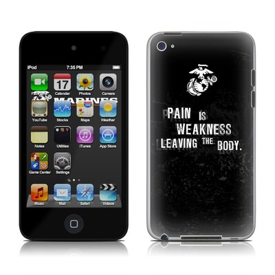 iPod Touch 4G Skin - Pain