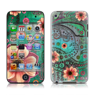 iPod Touch 4G Skin - Paisley Paradise