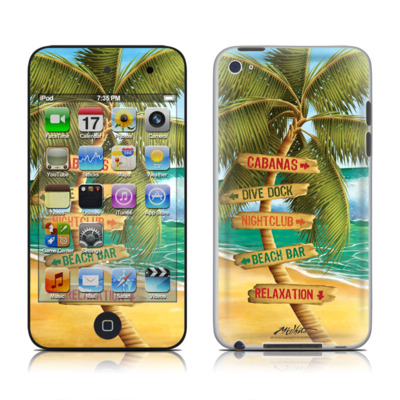 iPod Touch 4G Skin - Palm Signs