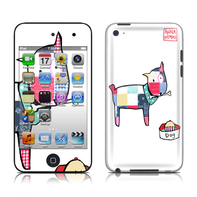 iPod Touch 4G Skin - Patch Dog