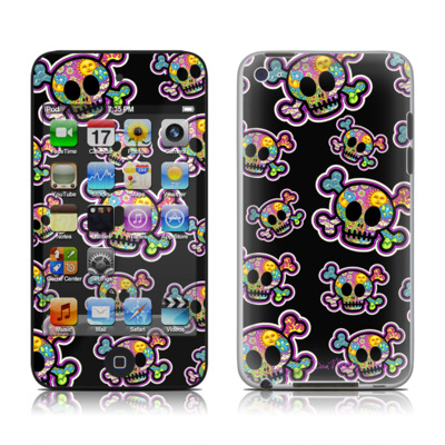 iPod Touch 4G Skin - Peace Skulls