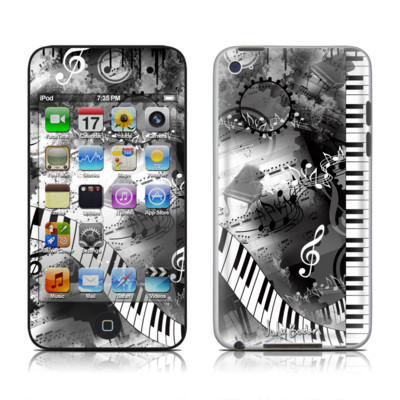 iPod Touch 4G Skin - Piano Pizazz
