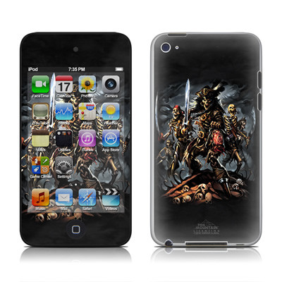 iPod Touch 4G Skin - Pirates Curse
