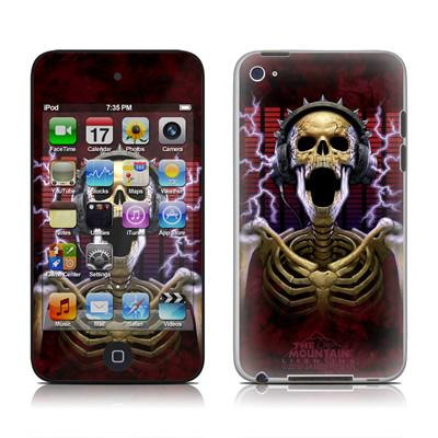 iPod Touch 4G Skin - Play Loud