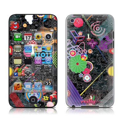 iPod Touch 4G Skin - Play Time