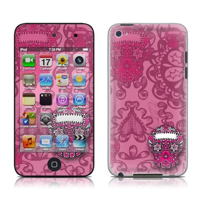 iPod Touch 4G Skin - Pink Lace