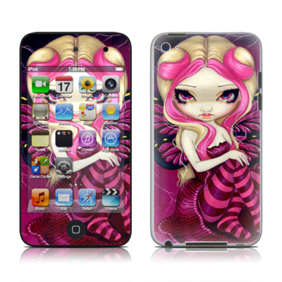 iPod Touch 4G Skin - Pink Lightning