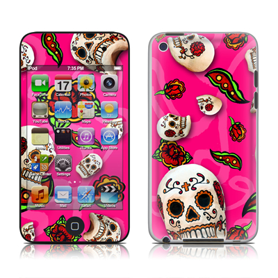 iPod Touch 4G Skin - Pink Scatter