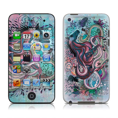 iPod Touch 4G Skin - Poetry in Motion