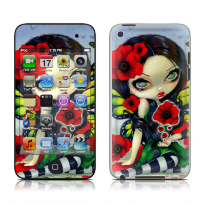 iPod Touch 4G Skin - Poppy Magic