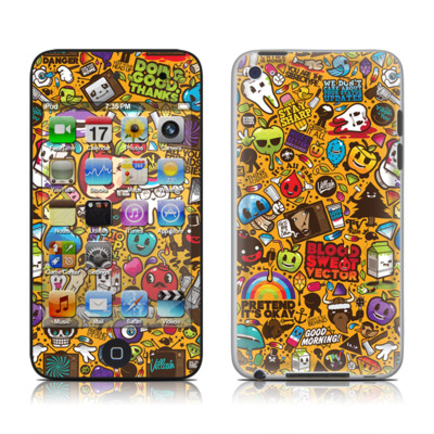 iPod Touch 4G Skin - Psychedelic