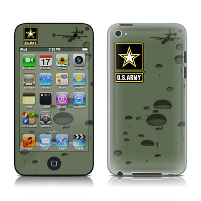 iPod Touch 4G Skin - Pull The Lanyard