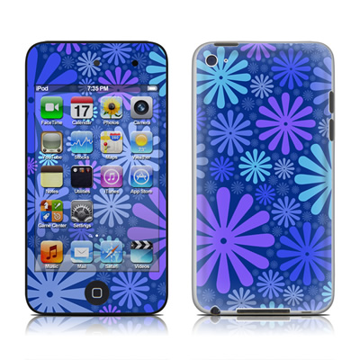 iPod Touch 4G Skin - Indigo Punch