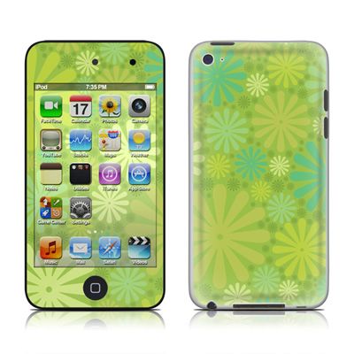 iPod Touch 4G Skin - Lime Punch