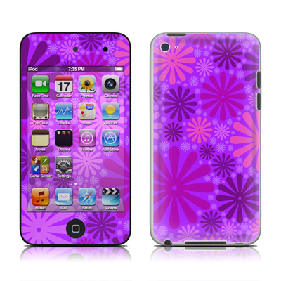 iPod Touch 4G Skin - Purple Punch