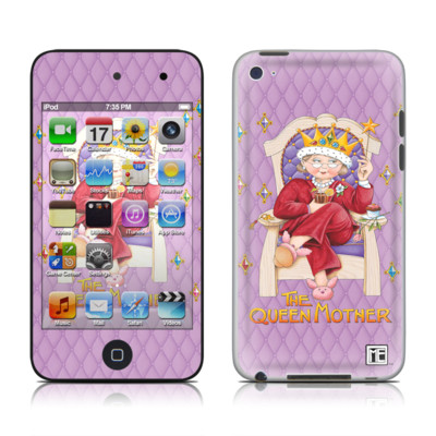 iPod Touch 4G Skin - Queen Mother